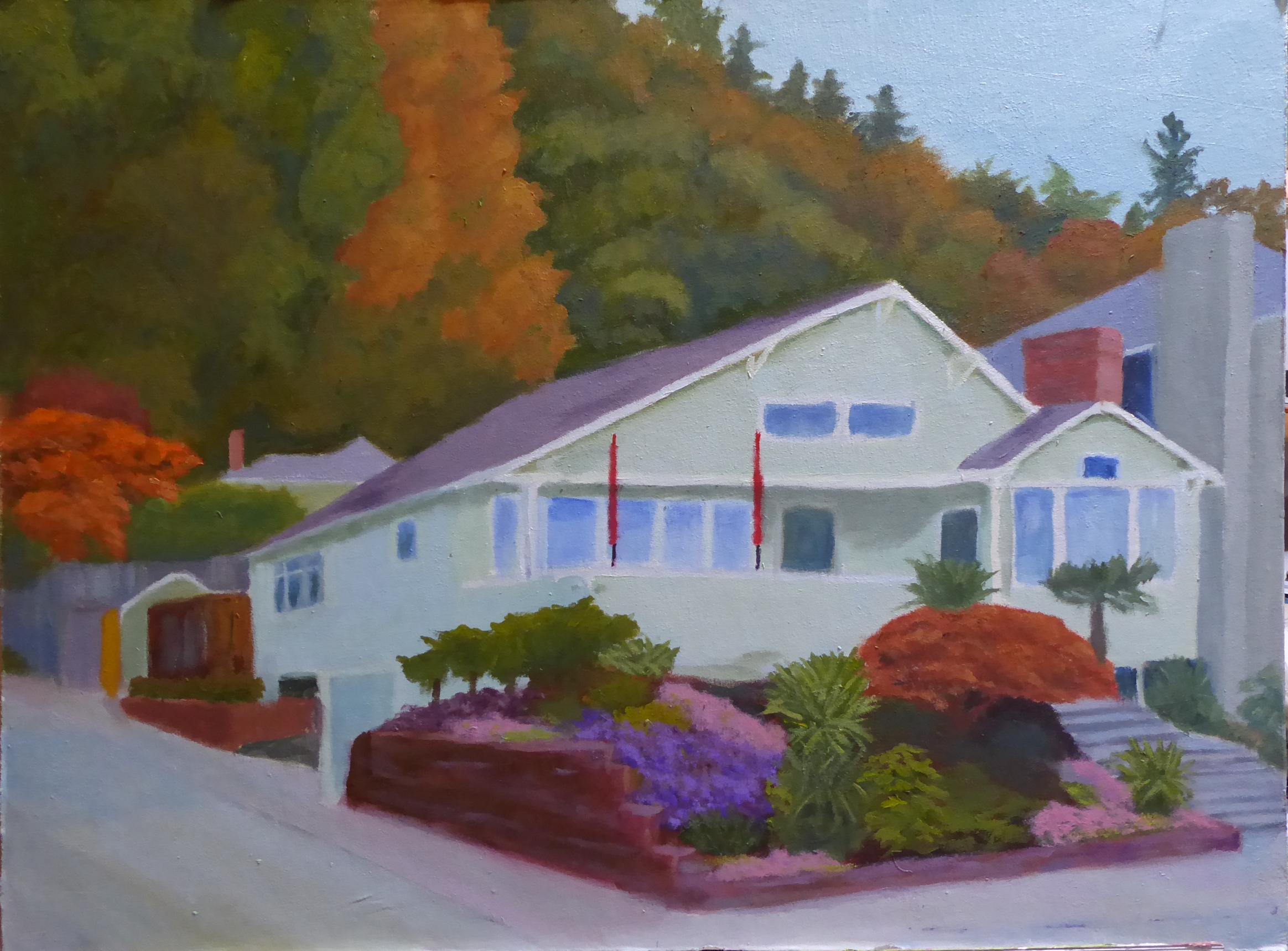 House on Alki Beach Drive